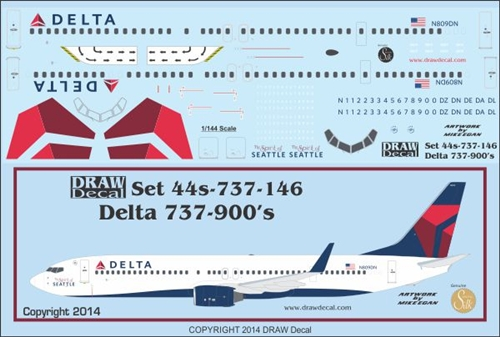 DRAW Decal Announcements | Airline Hobby Supplies