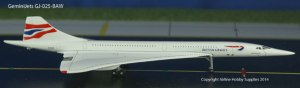 GeminiJets GJ-025-BAW British Airways Concorde