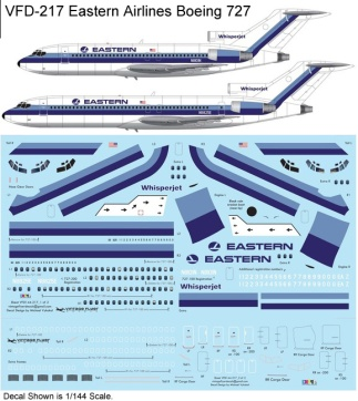 VFD-217 Eastern B727 Profile and Decal
