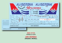 BOA144-102 Air Serbia A.320 Decal