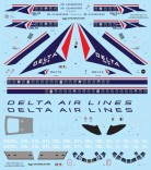 VFD72-235 Delta DC-9 Decal