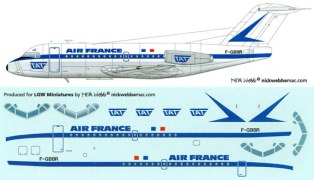 LGW44-AFR1000-Air-France-early-F28-1000-Profile-and-Decal-W