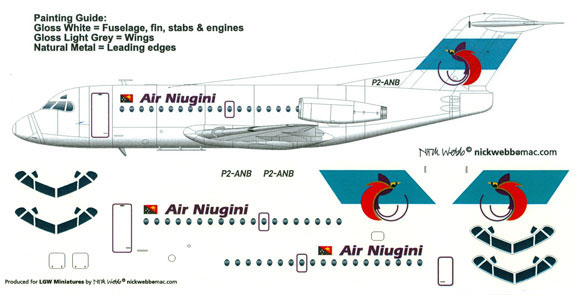 LGW44-NUI1000-Air-Niugini-F28-1000-Profile-and-Decal-W