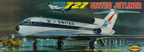 AUR-353-198-Boeing-727-100-United-Box-W
