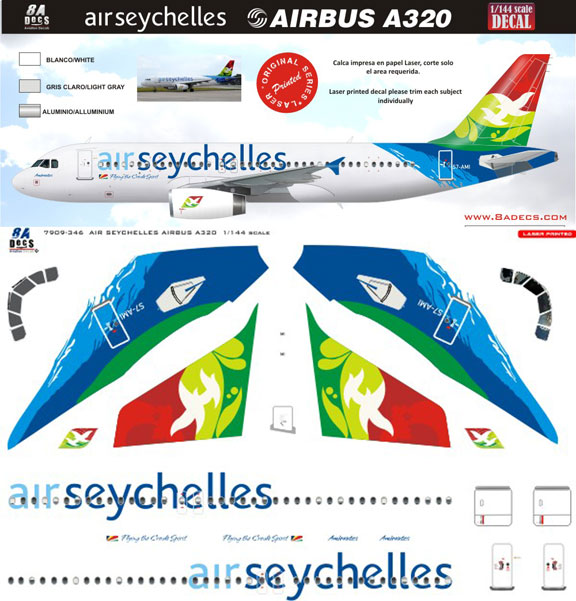 8A144-346-Air-Seychelles-A320-Profile-and-Decal-88-W