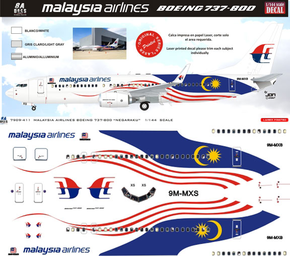 8A144-411-Malaysian-Airlines-B737-800-Profile-and-Decal-88-W