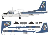 FR14118-BN2A-Islander-Olympic-Profile-and-Decal-88-W