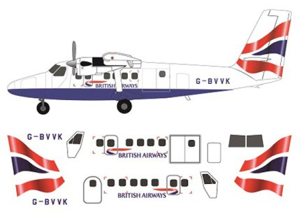 FR14120-Twin-Otter-British-Airways-Profile-and-Decal-88-W