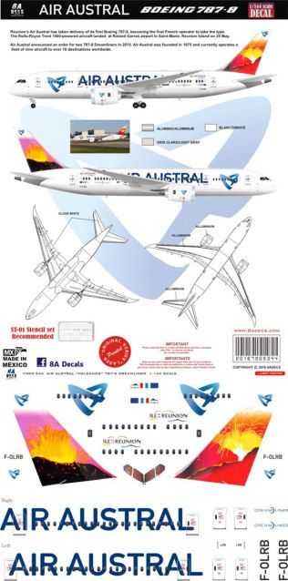 8A-344-Air-Austral-Volcano-Boeing-787-8-Decal-and-Profile-812-W