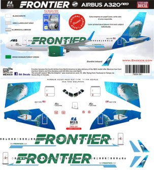 8A-391-Frontier-Dolphin-A320-Decal-and-Profile-812-W