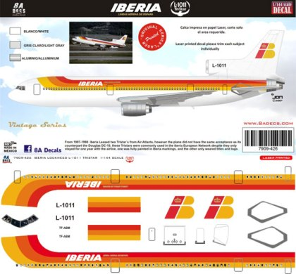 8A-426-Iberia-L1011-Tristar-Decal-and-Profile-812-W