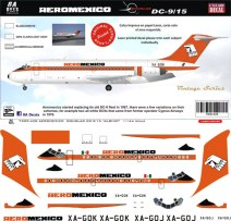 8A-428-AeroMexico-Douglas-DC-9-15-Decal-and-Profile-812-W