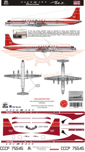 8A-429-Aeroflot-Ilyushin-18-Decal-and-Profile-812-W