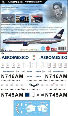 8A-433-Aeromexico-Boeing-777-200-Profile-and-Decal-812-W
