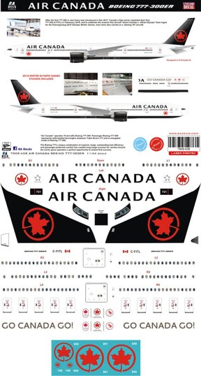 8A-438-Air-Canada-Boeing-777-300ER-Profile-and-Decal-812-W