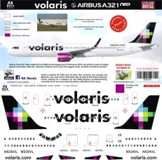 8A-441-Volaris-Airbus-A321-Profile-and-Decal-812-W
