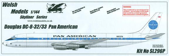 WSL-296P-Douglas-DC-8-30-Pan-American-Box-812-W