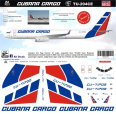 8A-445-Cubana-Cargo-Tupolev-204CE-Profile-and-Decal-812-W