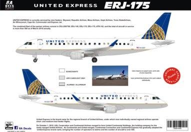 8A-449-United-Express-ERJ175-Profile-W