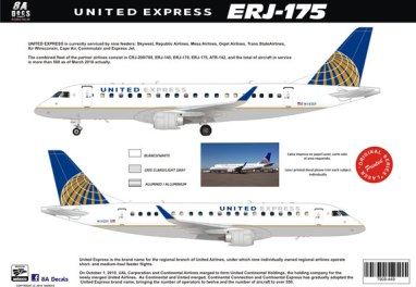 8A-449-United-Express-ERJ175-Profile-W