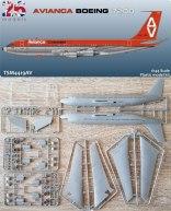 TSM4419AV_Avianca_Boeing_720B-W