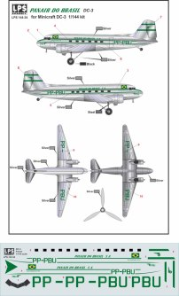 LPS44-034-Panair-DC-3-Profile-and-Decal-812-W