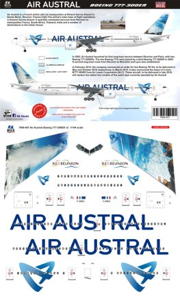 8A-457-Air-Austral-Boeing-777-300-Profile-and-Decal-812-W