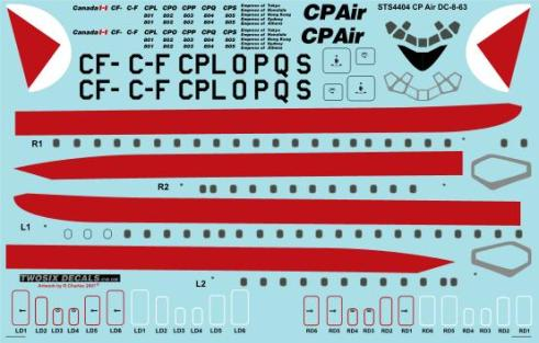 STS44-004 CP Air DC-8-63