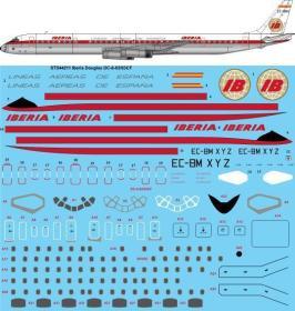 STS44-211_Iberia_DC-8-63