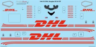 TS44-313 DHL DC-8-73F