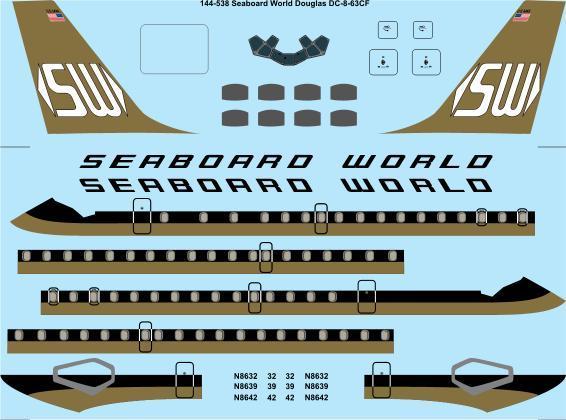 TS44-538 Seaboard World DC-8-63CF