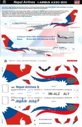 8A-471-Royal-Nepal-Airbus-A330-200-Instructions-and-Decal-812-W
