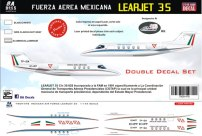 8A-478-FA-Mexicana-Lear-35-Instructions-and-Decal-812-W