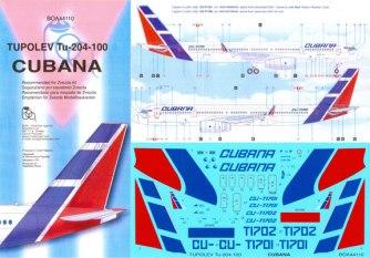 BOA144-110-Cubana-Tupolev-204-Instructions-and-Decal-812-W
