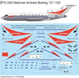 VFD-259-National-B727-100-Profile-and-Decal-812-W