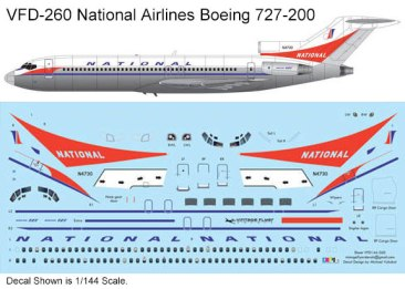 VFD-260-National-B727-200-Profile-and-Decal-812-W