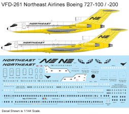 VFD-261-Northeast-B727-200-Profile-and-Decal-W
