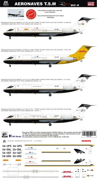 8A-482-Aeronaves-TSM-DC-9-30F-Instructions-and-Decal-812-W