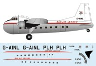 FR-P4102-Bristol-Freighter-Dan-Air-London-Profile-and-Decal-812-W