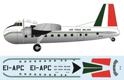 FR-P4105-Bristol-Freighter-Aer-Turas-Profile-and-Decal-812-W