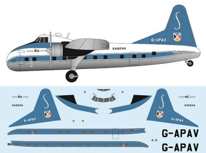 FR-P4111-Bristol-Super-Freighter-Sabena-Profile-and-Decal-812-W