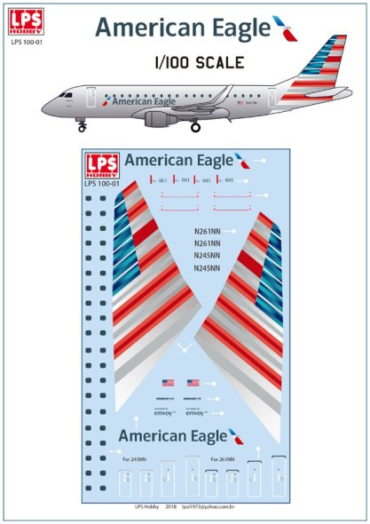 LPS100-001American-Emb175-812-W