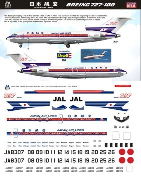 8A-486-Japan-Airlines-Boeing-727-100-Profile-and-Decal-812-W