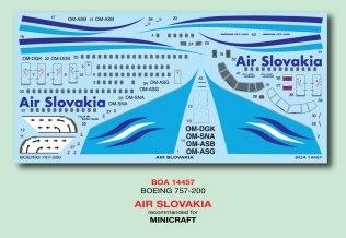 BOA144-057-Air-Slovakia-B757-200-Decal-W