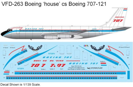 VFD-263-Boeing-707-121-Boeing-house-cs-Profile-and-Decal-812-W