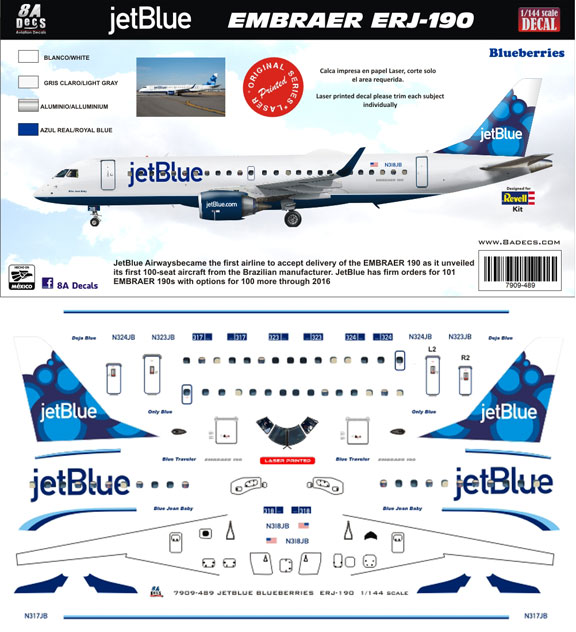 8A-489-BB-JetBlue-Embraer-190-Profile-and-Decal-812-W