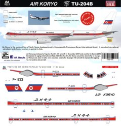 8a-495-air-koryo-tu204-profile-and-decal-812-w