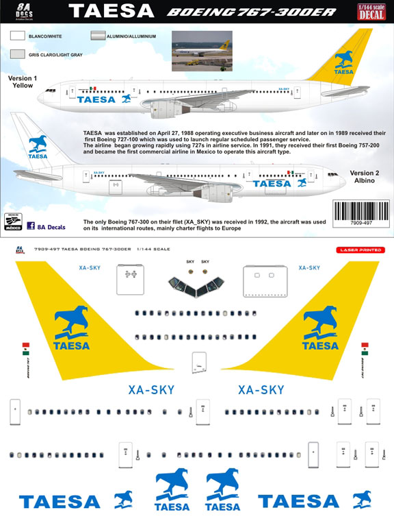 8a-497-taesa-b767-300-profile-and-decal-812-w
