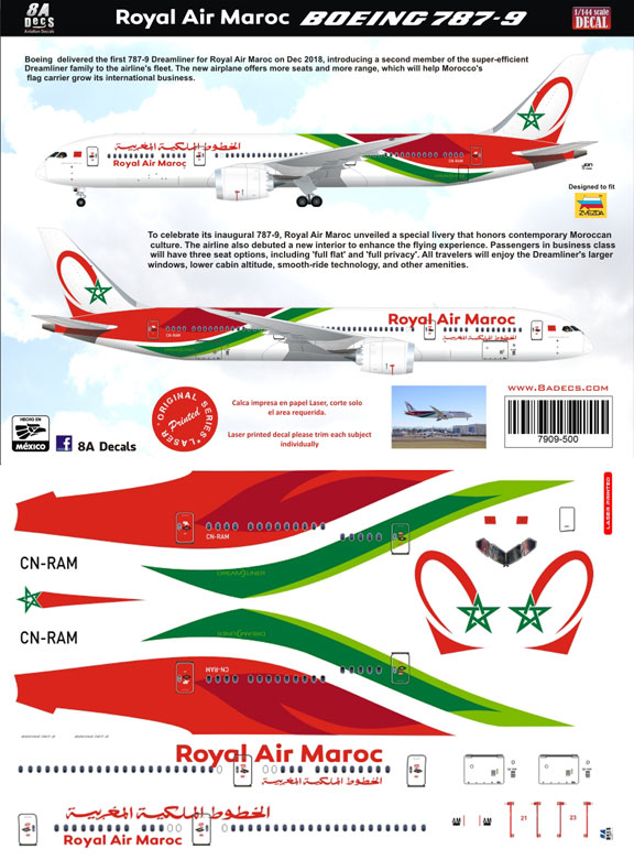 8A-500-Royal-Air-Maroc-B787-9-Profile-and-Decal-812-W