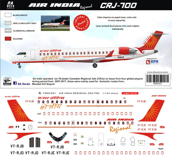 8A-501-Air-India-Regional-CRJ-700-Profile-and-Decal-812-W